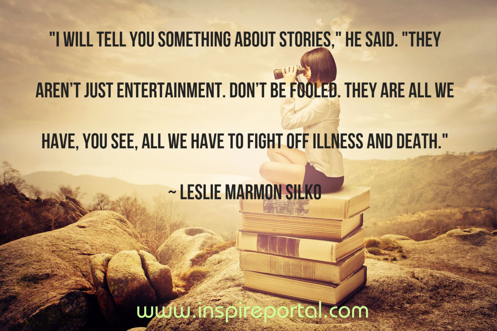 Stories quote