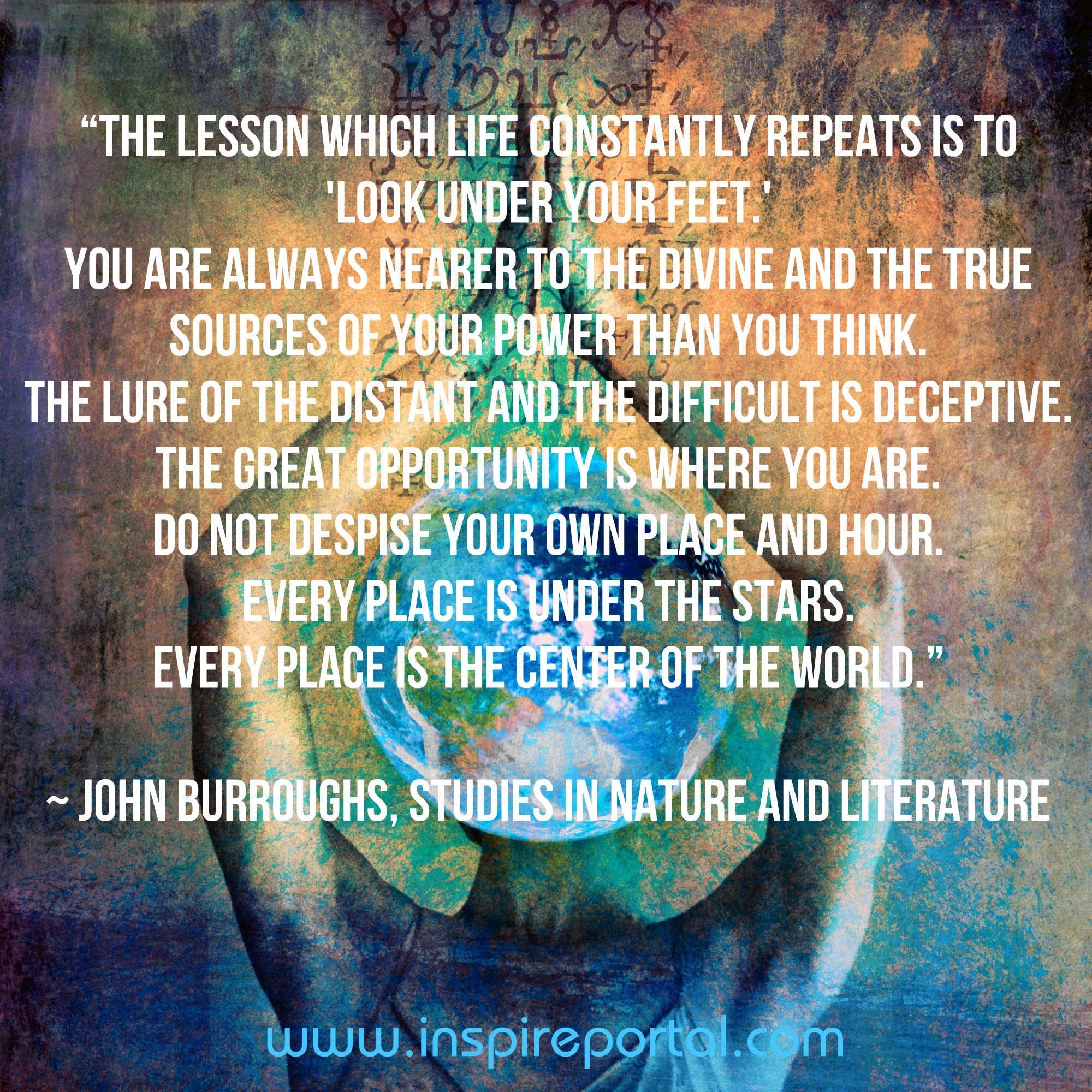 quote John Burrows