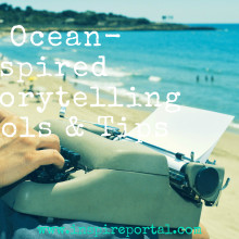 Ocean typewriter tips quotes