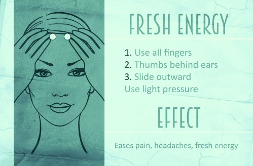Shiatsu teal Fresh Energy