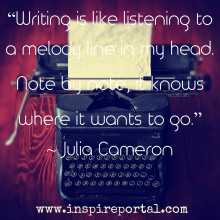 Julia Cameron on Why We Should Write