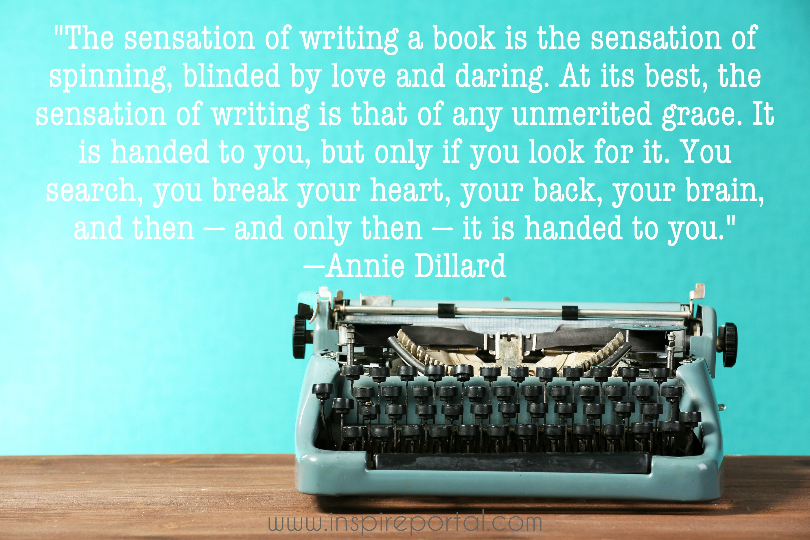 Quote IP annie dillard