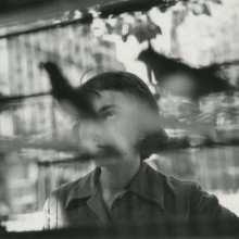 Elliott Erwitt - Paris, 1949 BW birds